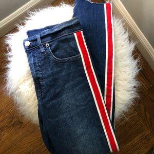 Gap true skinny mid rise jeans